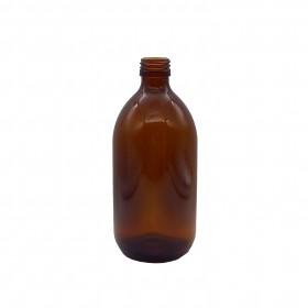 Botella Vidrio Ámbar 500ml