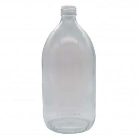 Botella Vidrio Transparente 1L